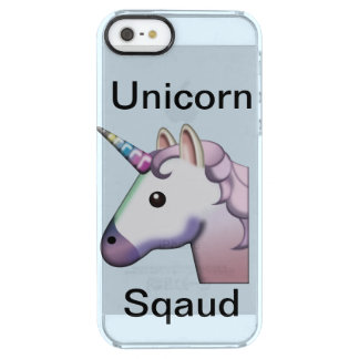 Unicorn Sqaud iphone se 5/5s cause Clear iPhone SE/5/5s Case