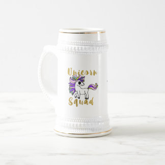 unicorn Squad, Colorful Pony Beer Stein