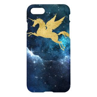 Unicorn Stardust Galaxy Constellation Blue iPhone 7 Case