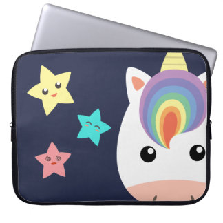 Unicorn & Stars Laptop Sleeve