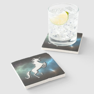 Unicorn Stone Coaster