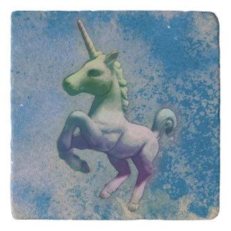 Unicorn Stone Trivet (Blue Arctic)