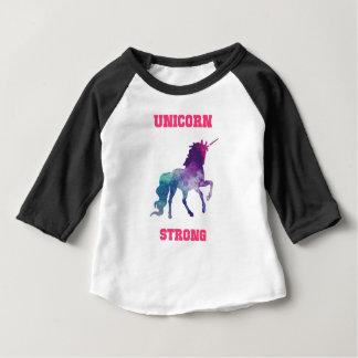 Unicorn Strong Baby T-Shirt