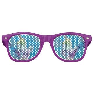 Unicorn Sunglasses Shades (Blue Nebula)