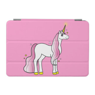Unicorn Surrounded by Stars iPad Mini Cover