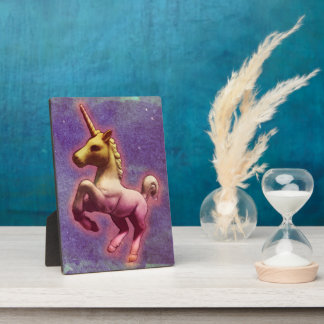 Unicorn Tabletop Plaque 5x7 (Purple Mist)