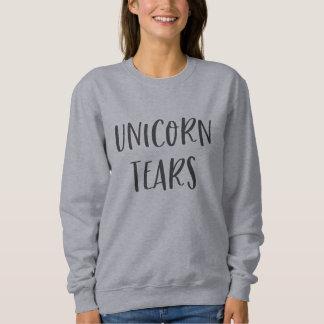 Unicorn Tears Funny Design Sweatshirt