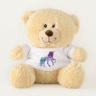 unicorn teddy bear