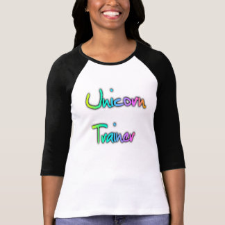 Unicorn Trainer Rainbow T-Shirt
