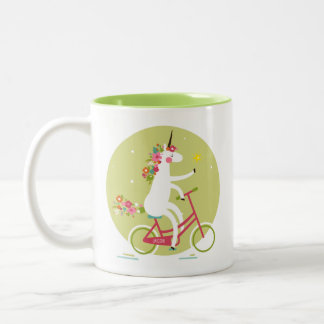 Unicorn Two-Tone Coffee Mug