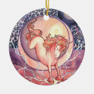 Unicorn, Universe Ceramic Ornament