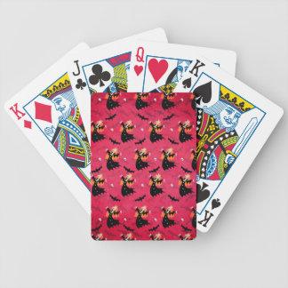 Unicorn Vampire Bicycle Playing Cards