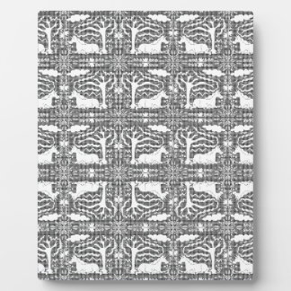 Unicorn Victorian Lace Plaque