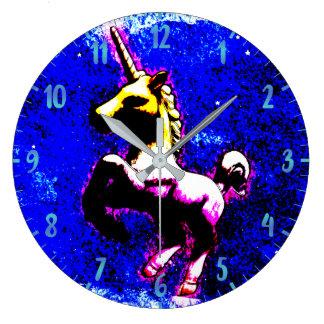 Unicorn Wall Clock | Punk Cupcake