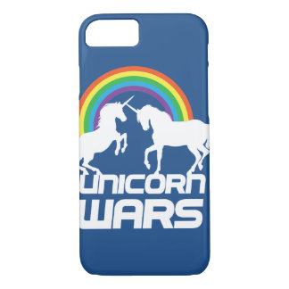 Unicorn Wars With Rainbow iPhone Case