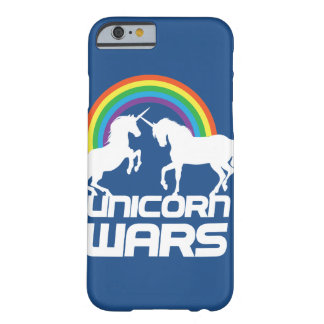 Unicorn Wars With Rainbow iPhone Case Barely There iPhone 6 Case