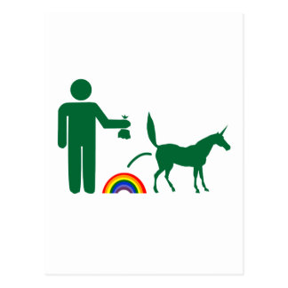 Unicorn Waste (Image Only) Postcard