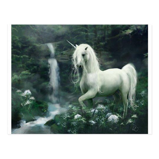 Unicorn Waterfall Postcard