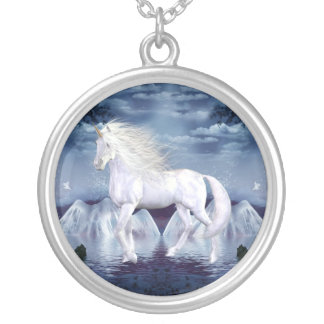 Unicorn White Beauty Necklace