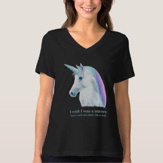 Unicorn Wish Dark T shirt