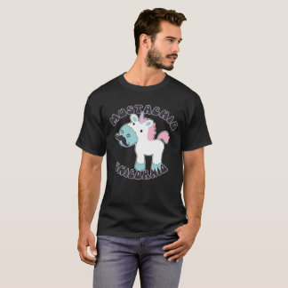 Unicorn with a Mustache T-Shirt