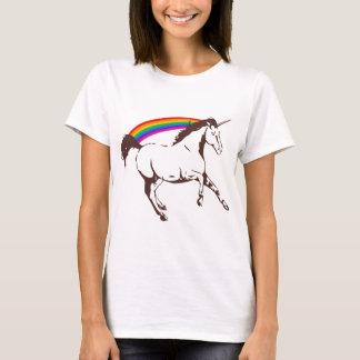 Unicorn with rainbow T-Shirt