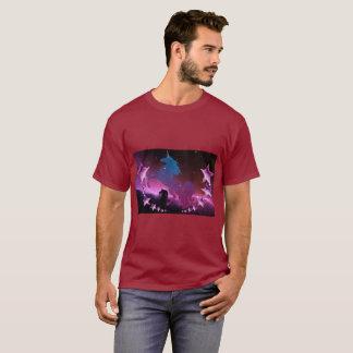 Unicorn with stars T-Shirt