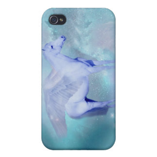 Unicorn with wings fantasy iPhone 4 covers