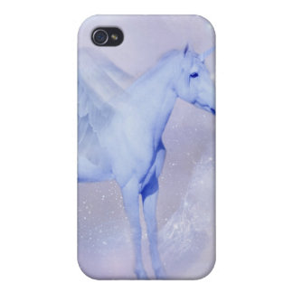 Unicorn with wings fantasy iPhone 4/4S cases
