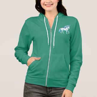 Unicorn Women's Flex Fleece Zip Hoodie