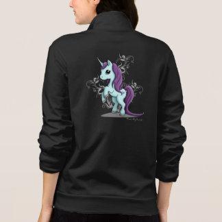 Unicorn Women's Zip Up Jacket Sweatshirt