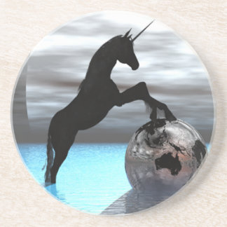 Unicorn Worship Beverage Coasters