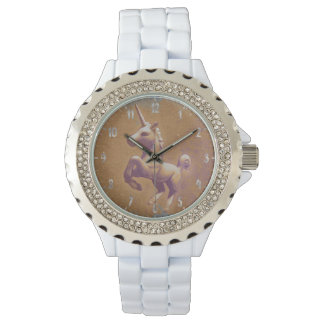 Unicorn Wrist Watch | Metal Lavender