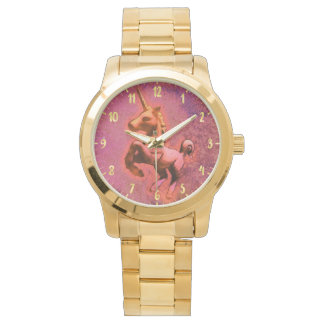 Unicorn Wrist Watch | Red Intensity