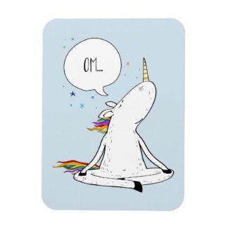 Unicorn Yoga Funny Unicorn Lover Magnet