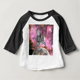 Unicorn Zebra Pegasus Baby T-Shirt