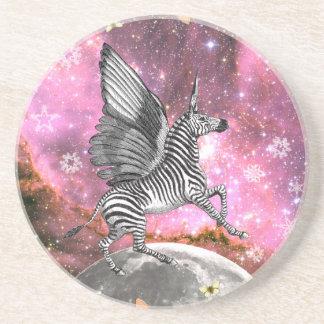 Unicorn Zebra Pegasus Coaster