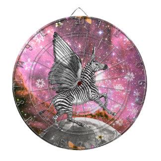 Unicorn Zebra Pegasus Dartboard