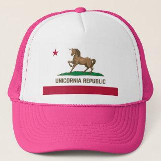 Unicornia Republic PINK! Trucker Hat