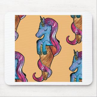 unicornio ice cream mouse pad