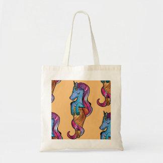 unicornio ice cream tote bag