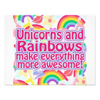 Unicorns and Rainbows Invitation