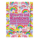 Unicorns and Rainbows The Poster!
