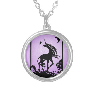 Unicorns are Real Silver Plated Necklace