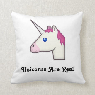 Unicorns Are Real Throw Pillow! Cushion