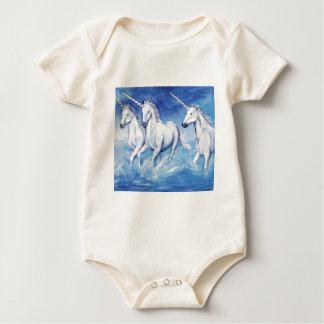 unicorns baby bodysuit