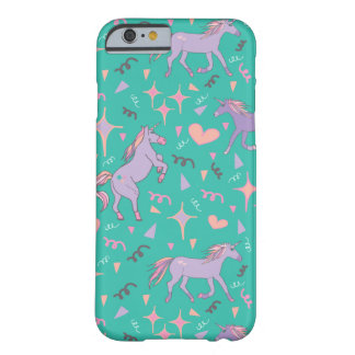 Unicorns Barely There iPhone 6 Case