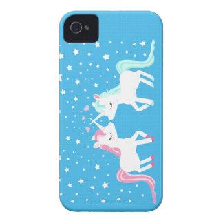 Unicorns in love Blackberry case