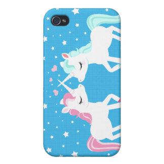 Unicorns in love Iphone case iPhone 4 Cases