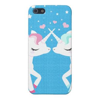 Unicorns in love Iphone case customisable iPhone 5 Case